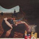 """1968 Marlboro Cigarettes Ad """"Come to where the flavor is."""""""