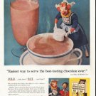 "1956 Borden's Ad ""best-tasting chocolate"""