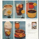 "1956 Pan-American Coffee Bureau Ad ""For safety's sake"""