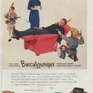 """1958 BarcaLounger Ad """"for a lifetime of comfort"""""""