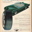 """1965 Kelly Tires Ad """"new dimensions"""""""