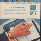 "1952 Elgin Watch Ad ""Smartest time for school"""
