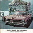 "1965 Pontiac Bonneville Ad ""good looking"" ~ (model year 1965)"