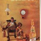 """1961 Miller Beer Ad """"Same good taste"""""""