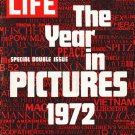 "1972 LIFE Magazine Cover Page ""Year in Pictures"" ~ December 29, 1972"
