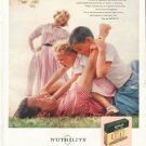 "1956 Nutrilite Ad ""rush of happiness"""