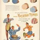 "1948 Reliance Shirts Ad ""Yucatan Tones"""