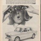 "1965 Fiat Ad ""America Discovers Italia"""