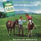 "1965 Salem Cigarettes Ad ""Springtime fresh"""