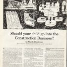 "1961 New York Life Insurance Ad ""your child"""