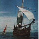 "1963 Columbus Ship Article ""We sailed The Columbus Ship"""