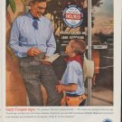 "1961 Insured Savings and Loan Association Ad ""Gary Cooper says"""