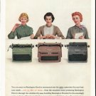 "1956 Remington Rand Ad ""You can count on Remington Rand"""