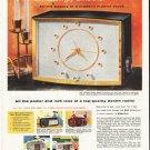 "1956 Zenith Ad ""modern mantel clock"""