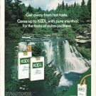 "1972 KOOL Cigarettes Ad ""Get away"""
