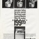 "1965 General Electric Ad ""new never before"""