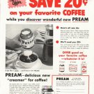 "1956 Pream Ad ""Special Offer"""