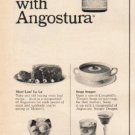 """1965 Angostura Ad """"Almost anything tastes better"""""""