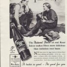 "1937 Hires Root Beer Ad ""This Is Tops!"""