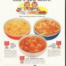 """1958 Campbell's Soup Ad """"so glad"""""""