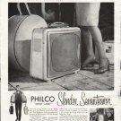 "1958 Philco Television Ad ""Will Travel"""