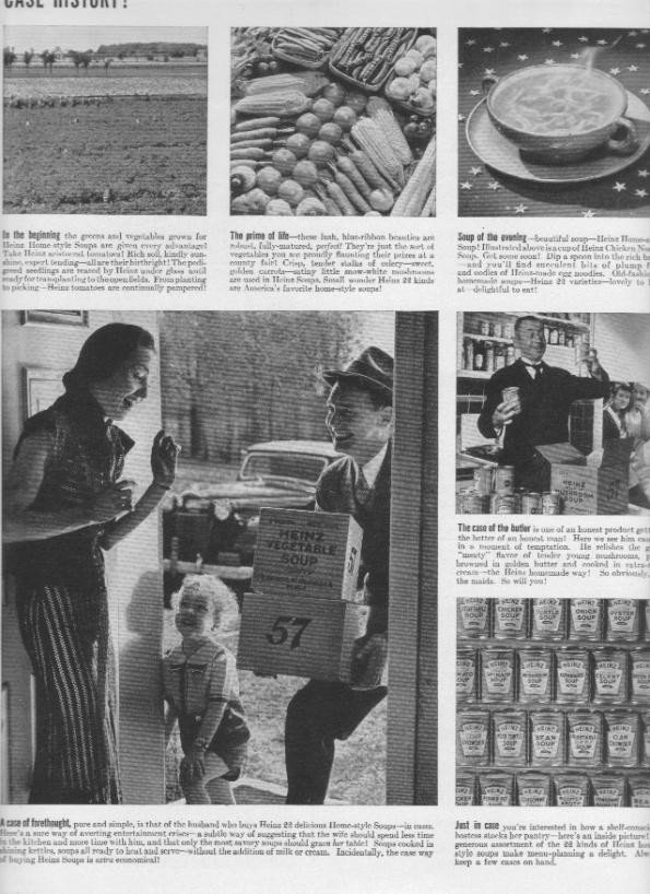 1937 Heinz Home-Style Soups Ad