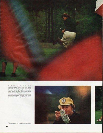 1965 Ladies Pro Golf Tour Article ~ By Bil Gilbert