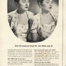 "1948 Toni Home Permanent Ad ""Which Twin"""