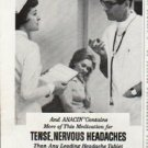 "1965 Anacin Ad ""Doctors Recommend Most"""