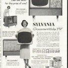 "1958 Sylvania TV Ad ""Like two sets"""
