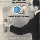 """1980 America's Full Service Bankers Ad """"this symbol"""""""