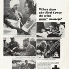 "1965 Red Cross Ad ""What does the Red Cross do"""