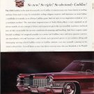 "1965 Cadillac Fleetwood Ad ""So new"" ~ (model year 1965)"