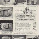 "1952 Philco Radio Ad ""Best of All"""