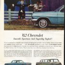 "1962 Chevrolet Ad ""A New World"" ~ (model year 1962)"