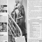 "1937 Hoover Vacuum Ad ""See It .. Lift It .. Try It"""