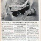 "1961 Members New York Stock Exchange Ad ""retirement"""