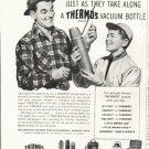 "1958 Thermos Ad ""Good fishermen"""