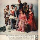 "1961 Smirnoff Vodka Ad ""Moss Hart"""