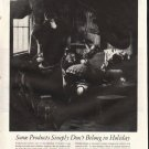 "1961 Holiday Magazine Ad ""Some Products"""
