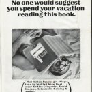 "1965 Yellow Pages Ad ""spend your vacation"""