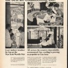 "1965 American Gas Association Ad ""the best air-conditioning"""