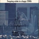 1980 Boston's Birthday Bash Article ~ happy 350th