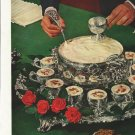 """1958 Four Roses Whiskey Ad """"Antique"""""""