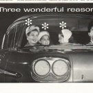 "1958 Guide Headlamps Ad ""Three wonderful reasons"""