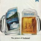 "1965 Hamm's Beer Ad ""picture of freshness"""