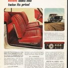 "1962 Chrysler Valiant Ad ""Inside and out"" ~ (model year 1962)"