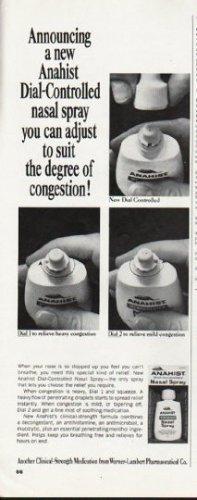 "1965 Anahist Nasal Spray Ad ""Dial-Controlled"""