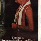 """1965 York Cigarettes Ad """"gives it to you straight"""""""