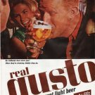 """1965 Schlitz Beer Ad """"Do redheads have more fun?"""""""